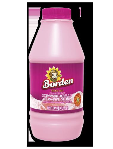 Borden Strawberry Milk