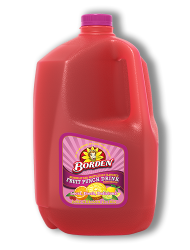Fruit Punch Flavored Protein Drinks