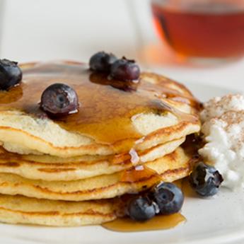 Farmhouse Blueberry Pancakes