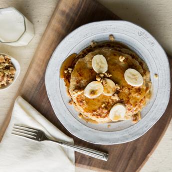 Homestyle Oatmeal Pancakes