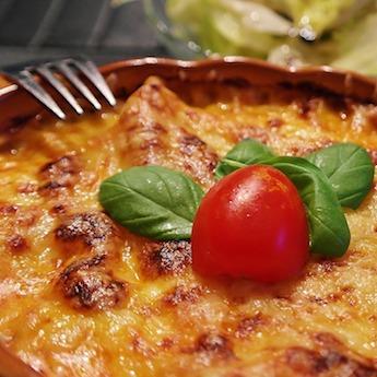 #HealthyWithElsie Summer Lasagna