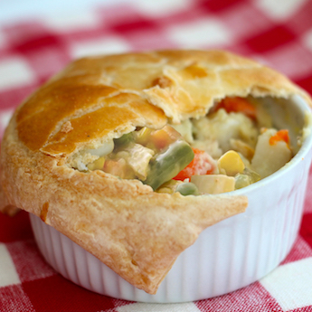 Elsie The Cow's Homemade Chicken Pot Pie