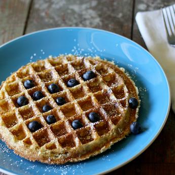 Quinoa Protein Waffles