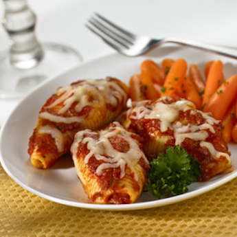Elsie's Homemade Vegetarian Stuffed Shells