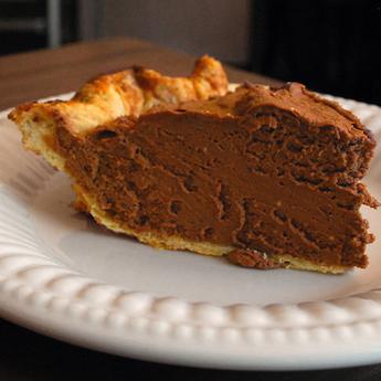 Elsie's Homemade Chocolate Silk Pie