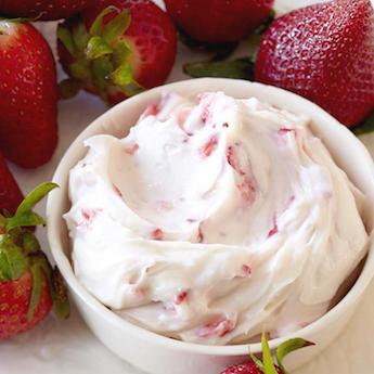 Elsie's Homemade Strawberries & Cream