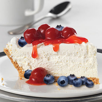 Red, White, & Blue Cheesecake
