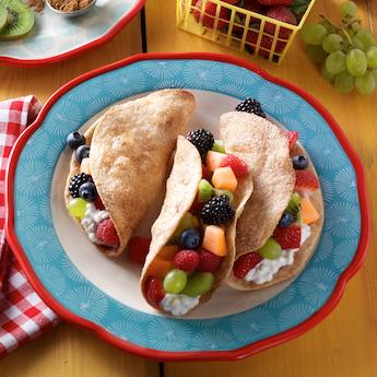 Elsie's Homemade Fruit Tacos