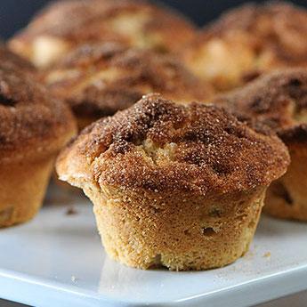 Elsie's Homemade Fall Apple Muffins