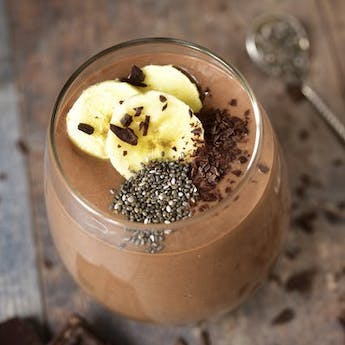 #HealthyWithElsie Chocolate Banana Frappe