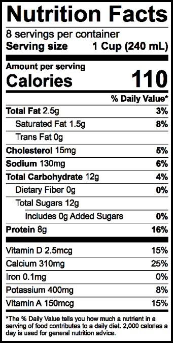 1% LOWFAT MILK - Borden Dairy